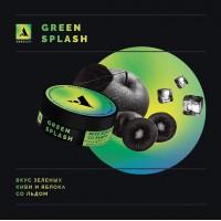 Табак Absolem Medium Green Splash (Киви Яблоко Лёд) 100 грамм