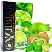 Табак Jibiar Green Mix (Зелёный Микс) 50 грамм