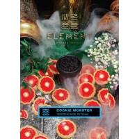 Табак ELEMENT Вода Cookie monster (Земляничное печенье) 200 грамм