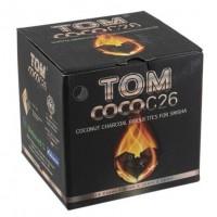 Кокосовый уголь Tom Cococha C26 1кг (в упаковке)