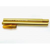 Алюминиевый мундштук с коннектором Ame Deluxe (Gold)