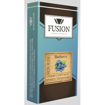 Табак Fusion Medium Blueberry (Черника) 100 грамм