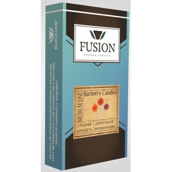 Табак Fusion Medium Burberry Candies (Барбарисовая конфета) 100 грамм