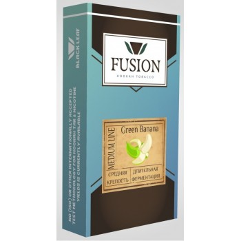 Табак Fusion Medium Green Banana (Зеленый банан) 100 грамм
