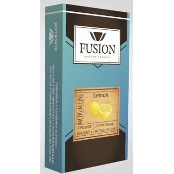 Табак Fusion Medium Lemon (Лимон) 100 грамм