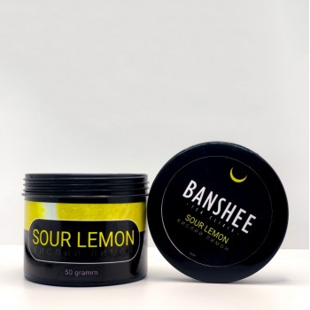 Чайная смесь Banshee Sour Lemon (Кислый Лимон) 50 грамм