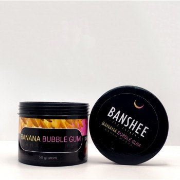 Чайная смесь Banshee Banana Bubble Gum (Банановая Жвачка) 50 грамм