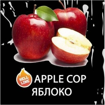 Табак Dead Horse Hell Line Apple Cop (Яблоко) 100 грамм