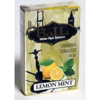Табак Balli Lemon Mint (Лимон и мята) 50 грамм
