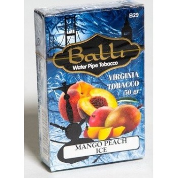Табак Balli Mango peach ice (Манго и Персик Айс) 50 грамм