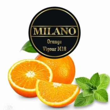 Табак Milano Orange Vigour M18 (Апельсин с мятой) 100 грамм
