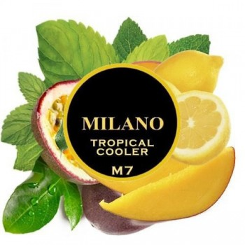 Табак Milano Tropical cooler m 7 (Маракуйя лимон папайя мята) 100 грамм