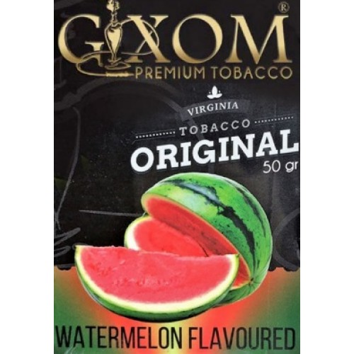 Табак Gixom Watermelon (Арбуз) 50 грамм