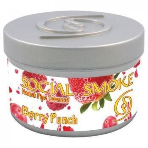 Табак Social Smoke Berry Punch 100 грамм