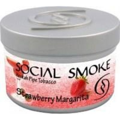 Табак Social Smoke Strawberry Margarita 100 грамм