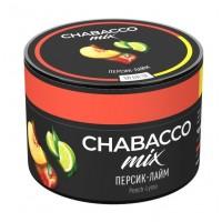 Смесь Chabacco MIX Peach-Lime (Персик-Лайм) 50 грамм