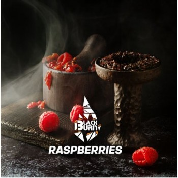 Табак Black Burn Raspberries (Черный Берн Малина) 100 грамм