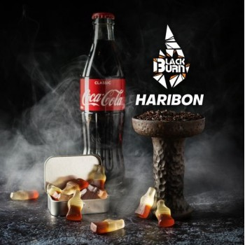 Табак Black Burn Haribon (Черный Берн Кола Мармелад) 100 грамм