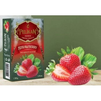 Табак Pelikan Strawberry (Клубника) 50 грамм