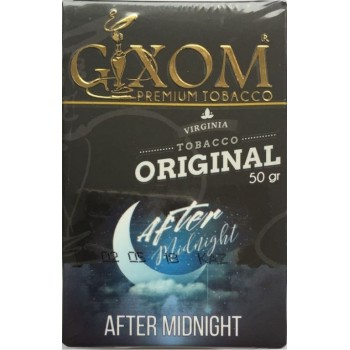 Табак Gixom After Midnight (После Полуночи) 50 грамм