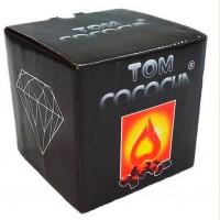 Кокосовый уголь Tom Cococha Diamond 1 кг (64кубика) в упаковке