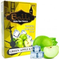 Табак Balli Green Apple Ice (Зеленое Яблоко Лед) 50 грамм