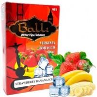 Табак Balli Strawberry Banana Ice (Ледяная Клубника Банан) 50 грамм