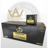 Уголь TAJ - TAJ 20x1 кг (BOX)
