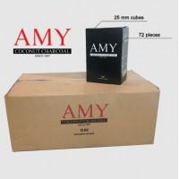 Кокосовый уголь AMY 10 кг (10x1)