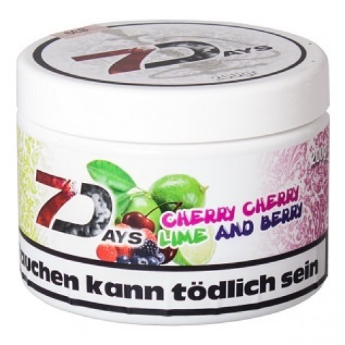 Табак 7 Days Cherry Lime and Berry 200 грамм