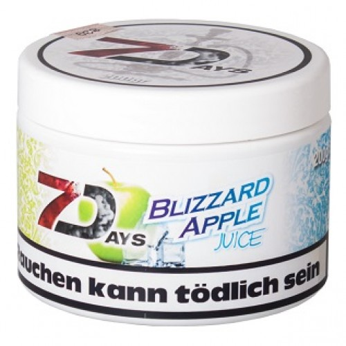 Табак 7 Days Blizzard Apple Juice 200 грамм