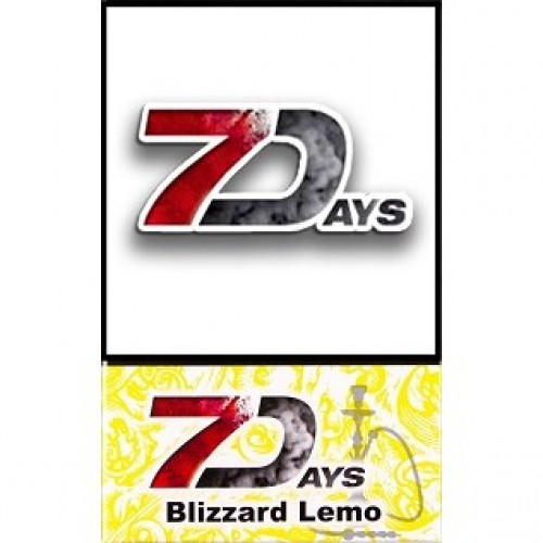 Табак 7 Days Blizzard Lemo 50 грамм