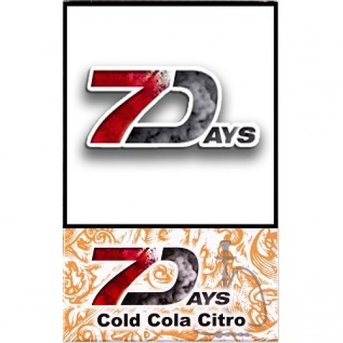 Табак 7 Days Cold Cola Citro 50 грамм