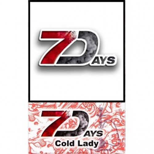 Табак 7 Days Cold Lady 50 грамм