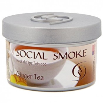 Табак Social Smoke Ginger Tea 100 грамм
