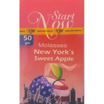 Табак Start Now New York Sweet Apple 50 грамм