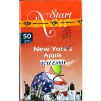 Табак Start Now New York/s Apple(Blizzard) 50 грамм