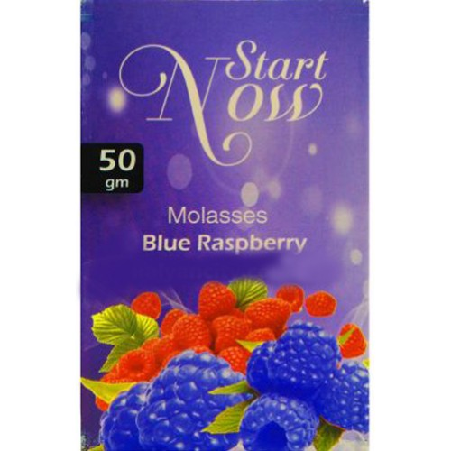 Табак Start Now Blue Raspberry 50 грамм