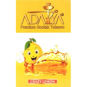 Табак Adalya - Crazy Lemon 50 грамм