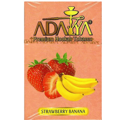 Табак Adalya Strawberry Banana (Клубника банан) 50 грамм