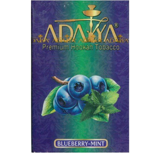 Табак Adalya Blueberry Mint (Черника с Мятой) 50 грамм