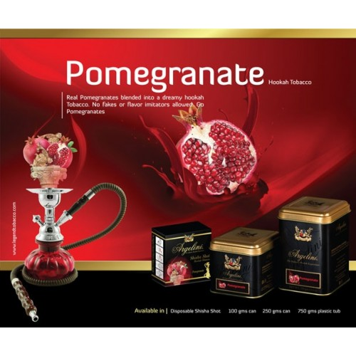 Табак Argelini Pomegranate (Гранат) 50 грамм на развес