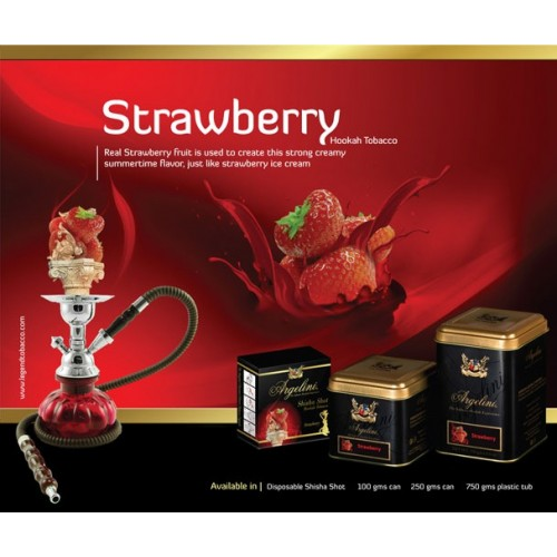 Табак Argelini Strawberry (Клубника) 50 грамм на развес