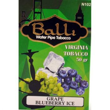 Табак Balli Grape Blueberry Ice (Виноград черника лед) 50 грамм