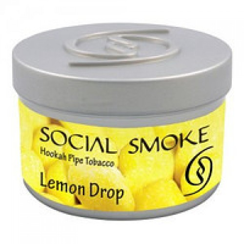 Табак Social Smoke Lemon Drop (Лимон) 100 грамм